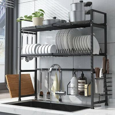 2tier over the sink dish drying rack