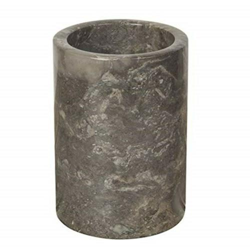 74066 natural marble multi functional tool crock