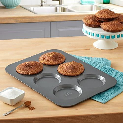 Chicago Metallic Professional Non-Stick Muffin Top Pan, 15.75-Inch-by-11-Inch