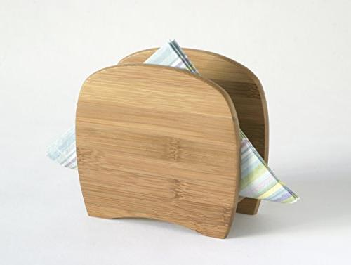 Lipper Wood Napkin Holder, x