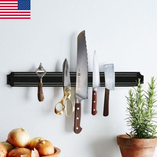 Wall Strong Magnetic Knife Strip Utensil Kitchen