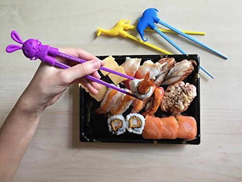 Chopstick Chop Children, Kids, Teens, Adults, 5 pairs Reusable,