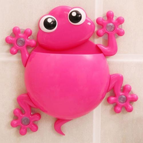 Animals Silicone Holder Family Set Bathroom Suction
