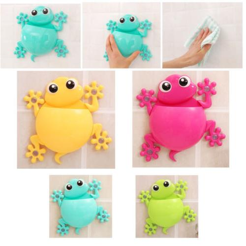 Animals Frog Silicone Holder Family Bathroom
