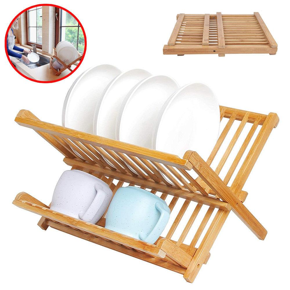 Bamboo Dish Drying Rack.Bamboo Dish Drying Rack Wood Sink With Utensil