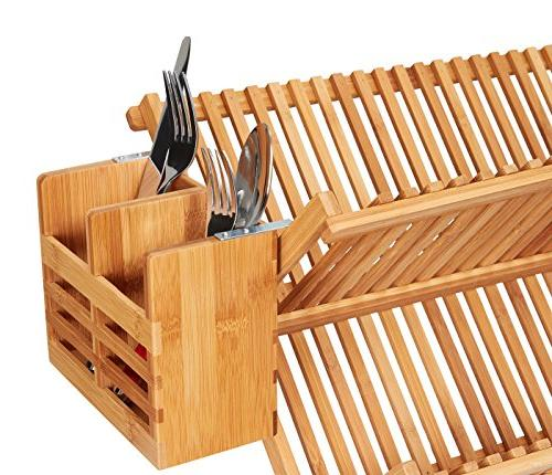 Home Bamboo and Utensil Organizer and Drying