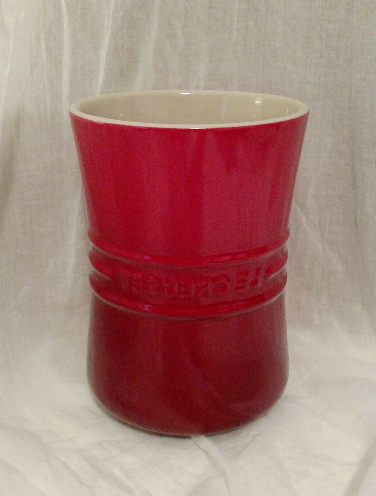 cherry red stoneware 6 1 2 inch