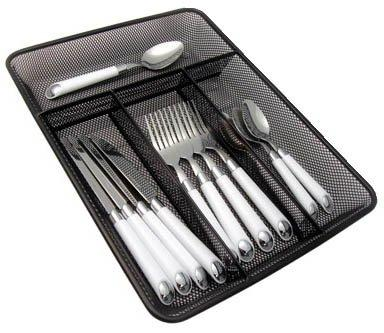 ct10375 mesh steel cutlery tray