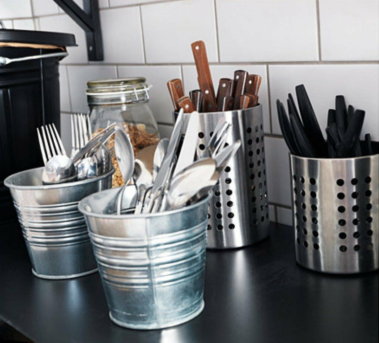 IKEA Utensils Silverware Storage Holder