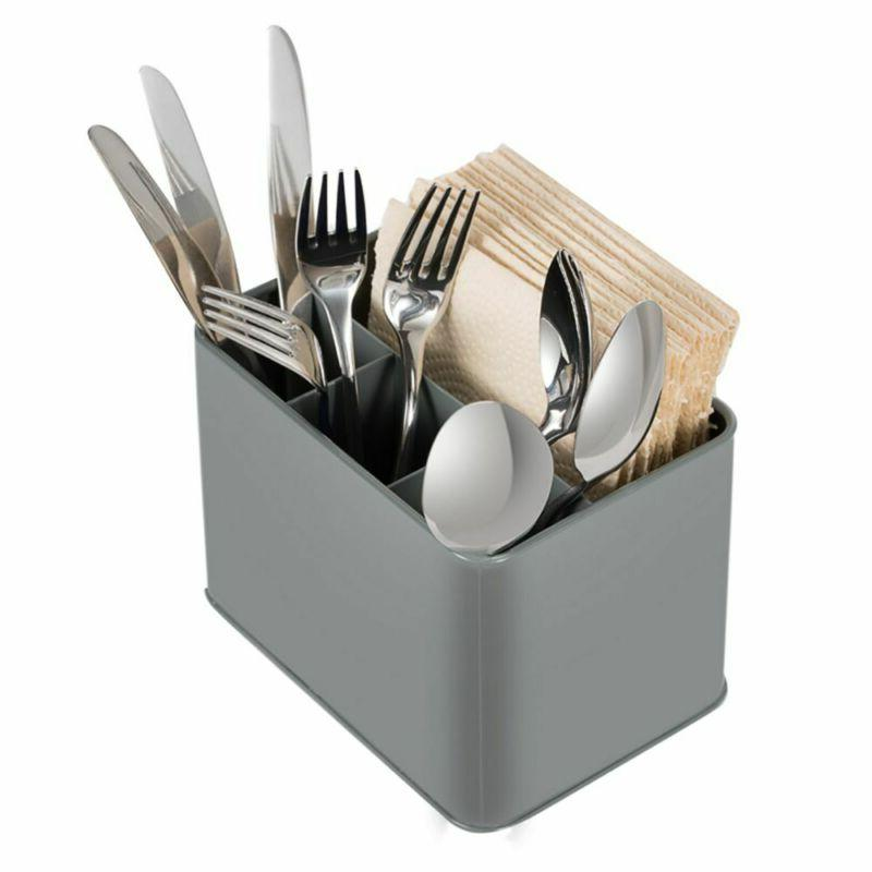 Cutlery Utensil Storage Drainer Tableware Holder