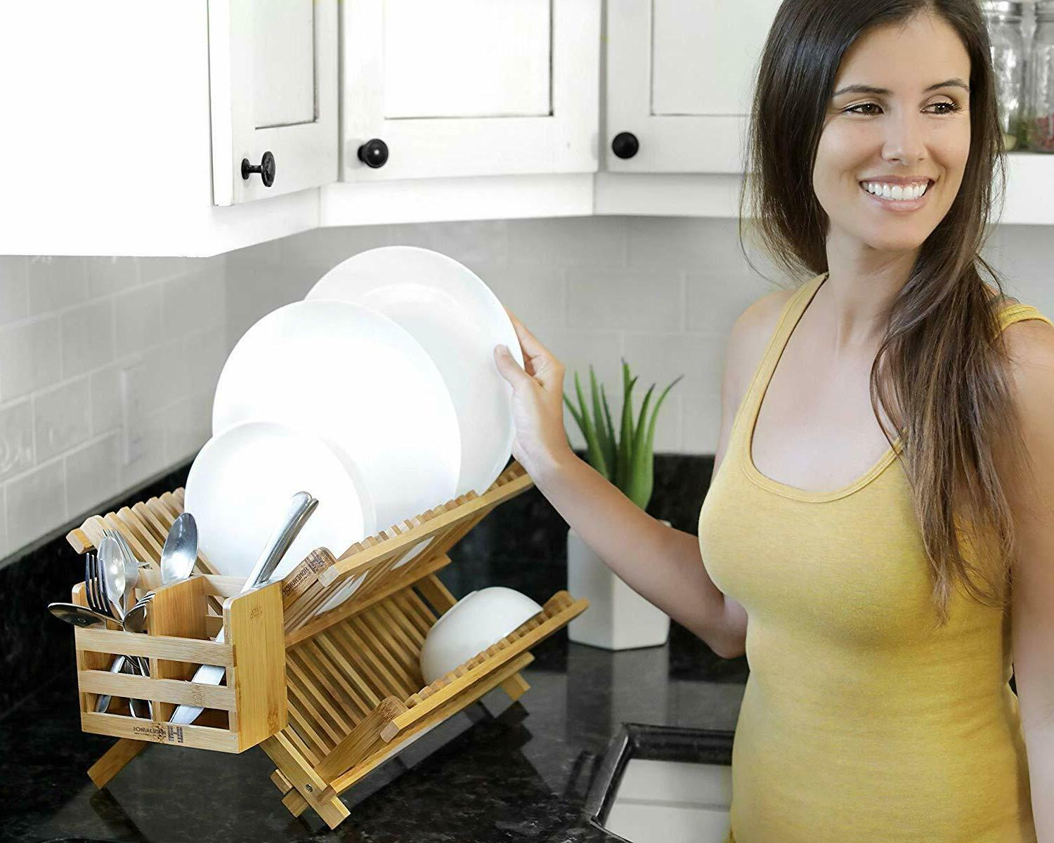 Dish Foldable Plate Dryer with
