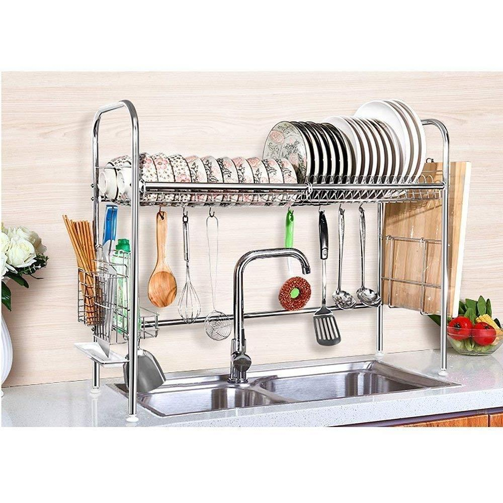 dish drying rack over sink space saver