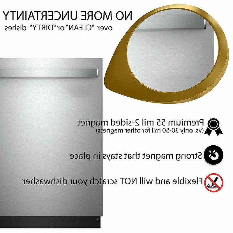 Newly Dishwasher Universal Clean Dirty <font><b>Magnets</b></font> Sign