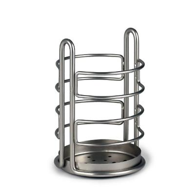 Spectrum Diversified Euro Utensil Holder, Satin Nickel