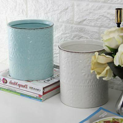 Lifver Embossed Ceramic Crock x