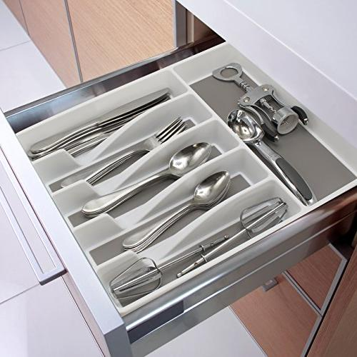 Sorbus Organizer, Expandable Drawer for Multi-Purpose Storage for