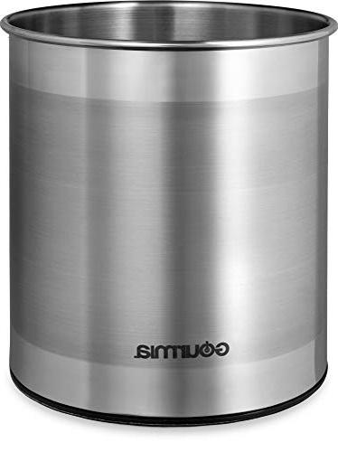 Gourmia GCH9345 Utensil Stainless to Store and Serving Non Bottom Use Caddy