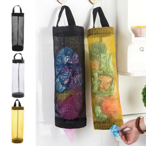 garbage bag holder storage pouch plastic storing