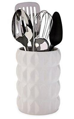 Beautiful Hand Crafted Ceramic Utensil Holder - Gorgeous Glo