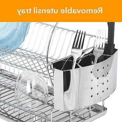 Drainer Stainless Steel Holder Tray