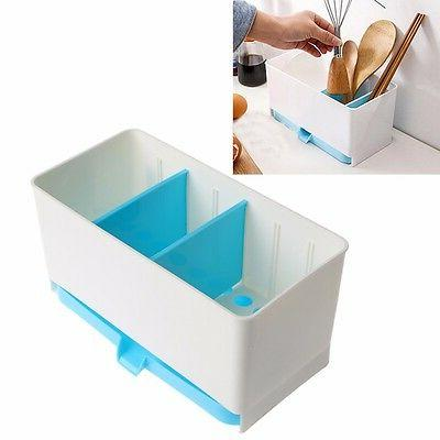 holder rack basket sponge dry shelf wash