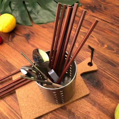 Cutlery Holder Drainer Conical Pot Stainless Storage