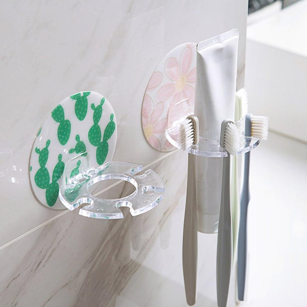 Home Toothbrush <font><b>Holder</b></font> <font><b>Holder</b></font> Multifunctional Wall Hanging Storage Washing