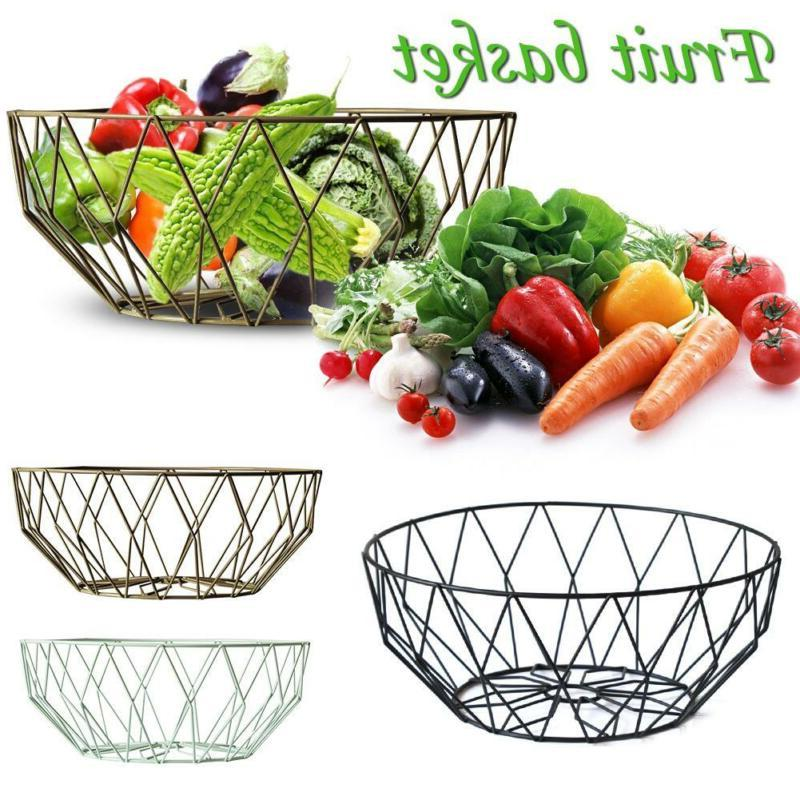 Kitchen Accessory Fruit Bowl Iron Wire