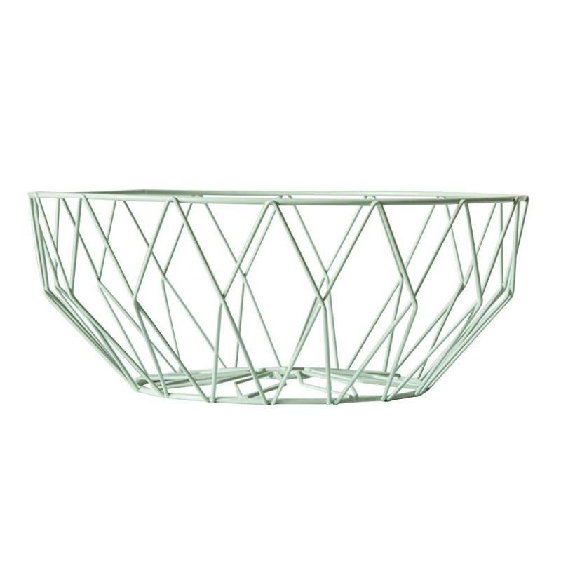 Kitchen Fruit Bowl Roll Iron Stand