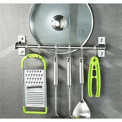 Kitchen Hanging with 10 Hooks Mounted Tool