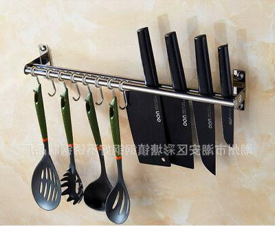 Kitchen Rod with 10 Mounted Utensil Tool