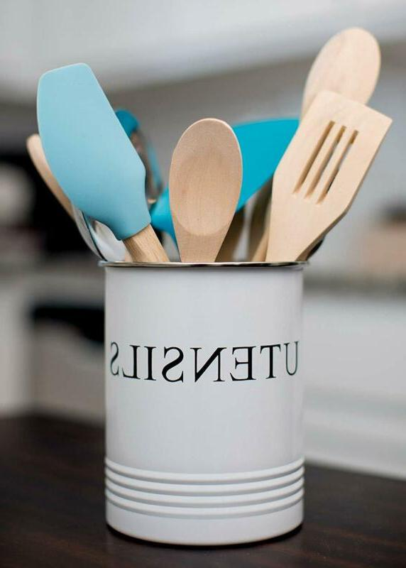 Kitchen Utensil Farmhouse for Home - Crock Caddy