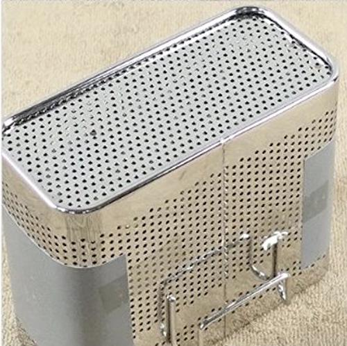 Cook Perforated Drying Rack Basket with Compartments