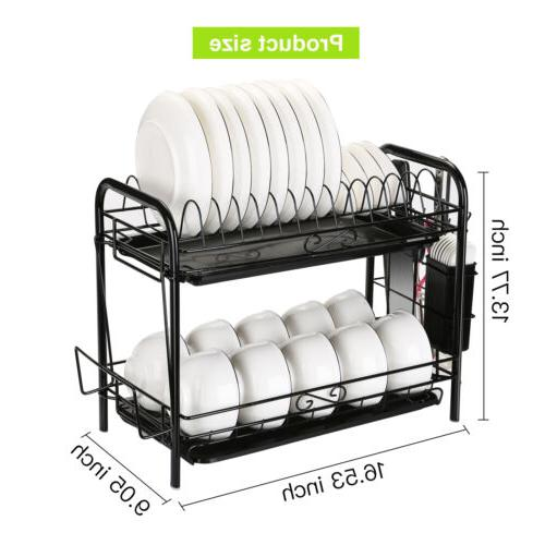 Large Capacity Rack 2 w/ Holder Drying Storage