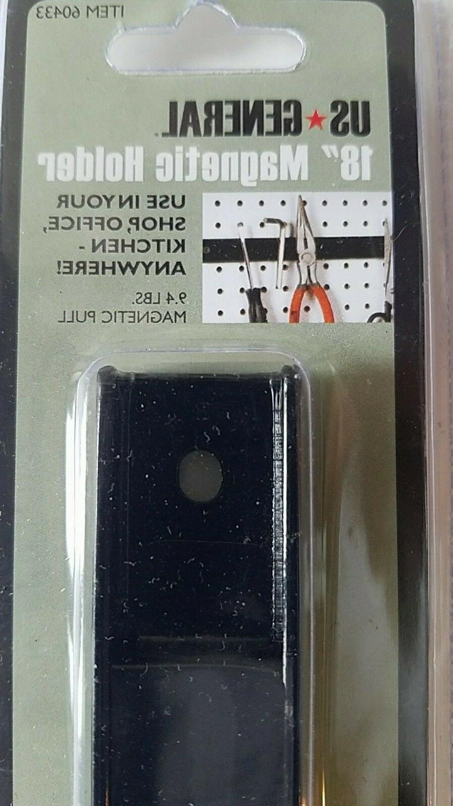 """Magnetic Holding Bar Tools x x0.5""""D w Mounting"""