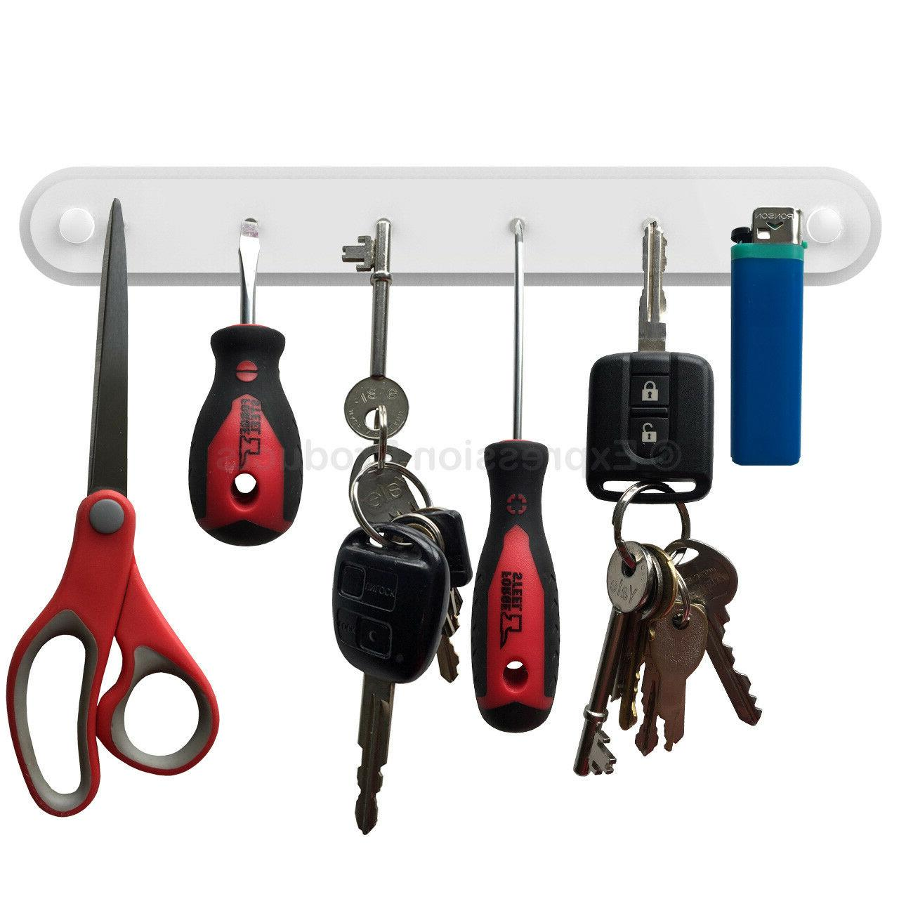 magnetic key holder rack key kitchen utensils