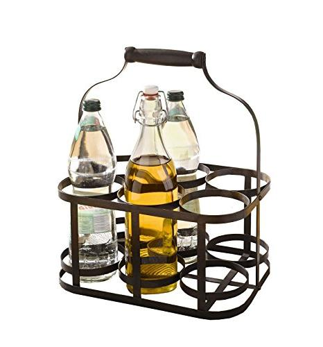 6-Bottle Caddy Holder with Handle Product SKU:
