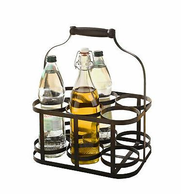 metal rack basket caddy holder