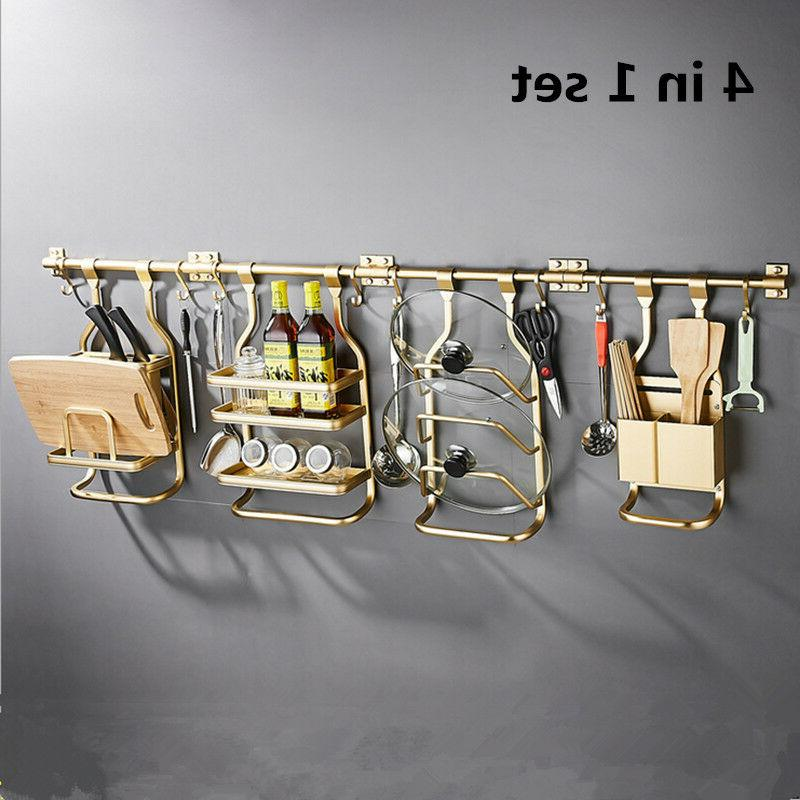 Modern Gold Kitchen Spice Rack