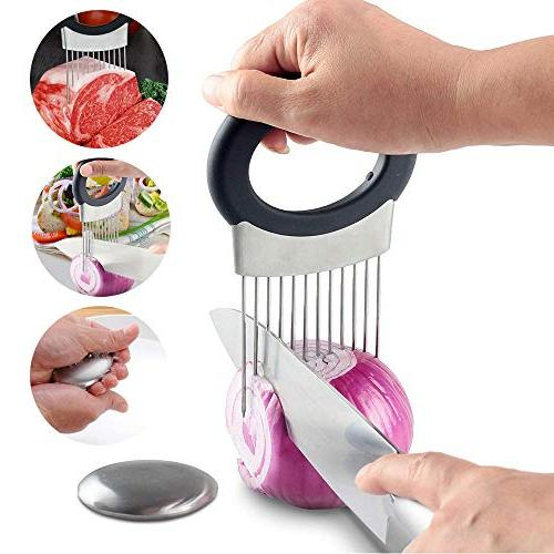 SAYGOGO Sliced Small Stainless Steel, Compliant Fruits and Vegetables