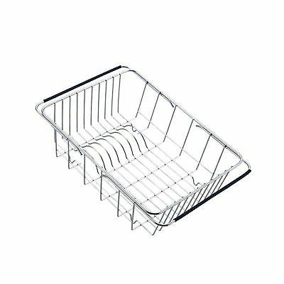 GeLive Over Dish Rack, Arms Utensil Drainer Holder,