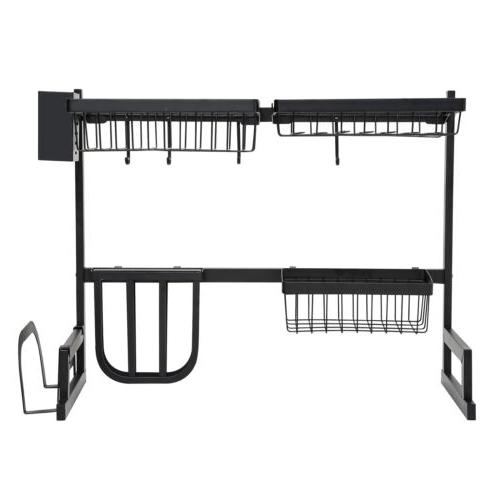 Over Drying Rack with Holder for 2-Tier