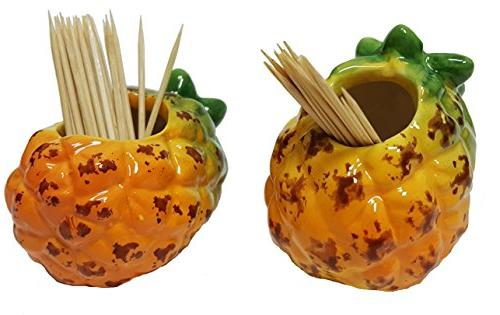 pineapple ceramic hand painted kitchen