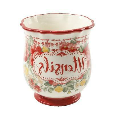 Utensil Holder The Pioneer Woman Floral