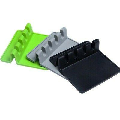 Silicone Resistant Holder Kitchen Fork Tray