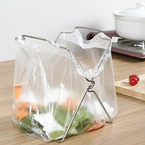 Silver Bag Rack Small Holder Towels CO