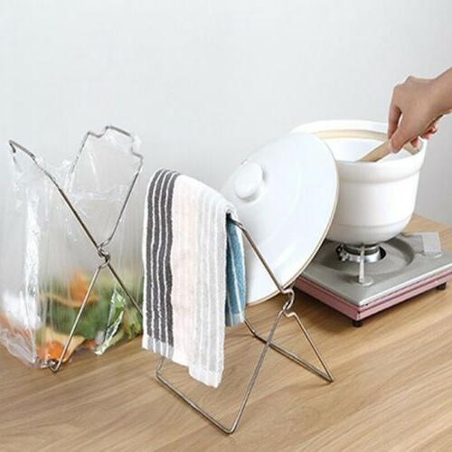 Silver Rack Small Holder Kitchen Utensil Can CO