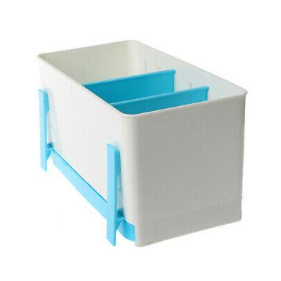 Plastic Rack Wash Sponge Rack Holder Dry Shelf Basket Cutler