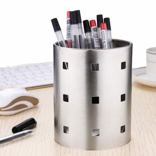 Home Kitchen Stainless Steel Utensil Holder Caddy Cooking To