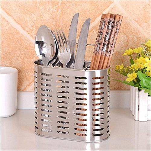 stainless steel cutlery draining racks